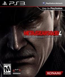 Metal Gear Solid 4 - PS3 (Seminovo)