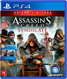 Assassin's Creed Syndicate - PS4 (Seminovo)
