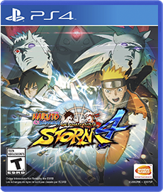 Naruto Shippuden: Ultimate Ninja Storm 4 - PS4 (Seminovo)