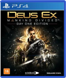 Deus Ex: Mankind Divided - PS4 (Seminovo)
