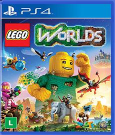LEGO Worlds - PS4 (Seminovo)