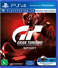 Gran Turismo Sport - PS4 (Novo)