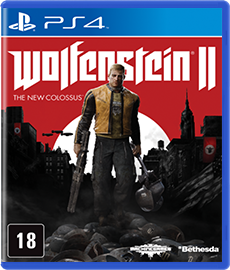 Wolfenstein 2 The New Colossus - PS4 (Novo)