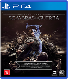 Shadow of War Edição Limitada - PS4 (Novo)