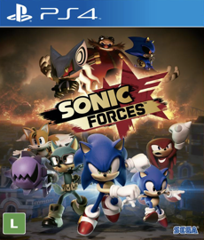 Sonic Forces - PS4 (Novo)