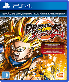 Dragon Ball Fighter Z - Edição Limitada - PS4 (Seminovo)