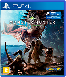Monster Hunter World - PS4 (Novo)