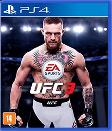 UFC 3 - PS4 (Novo)