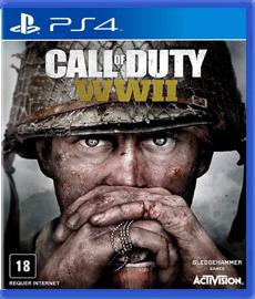 Call Of Duty WW II WW 2 - PS4 (Seminovo)