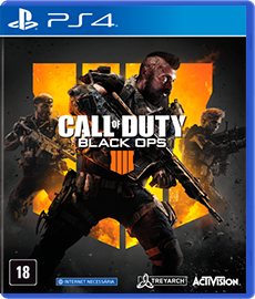 Call Of Duty Black Ops 4 - PS4 (Novo)